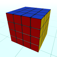 4x4x4 cube